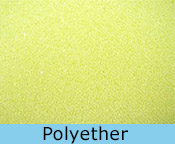 Kindermatras polyether